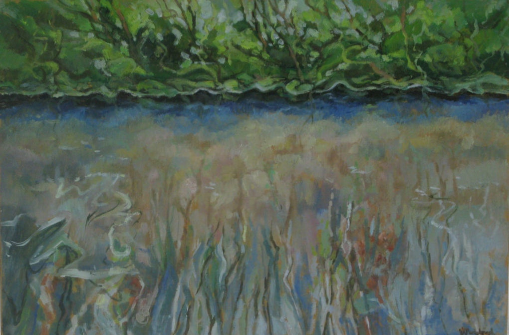 Pond Through Glass (SOLD)