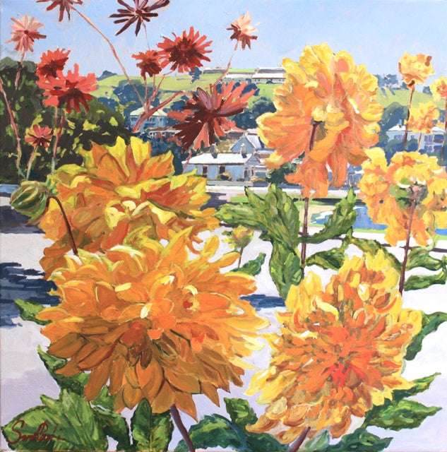 Dahlias North Head (SOLD)
