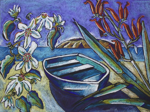 Clematis and Dinghy (SOLD)