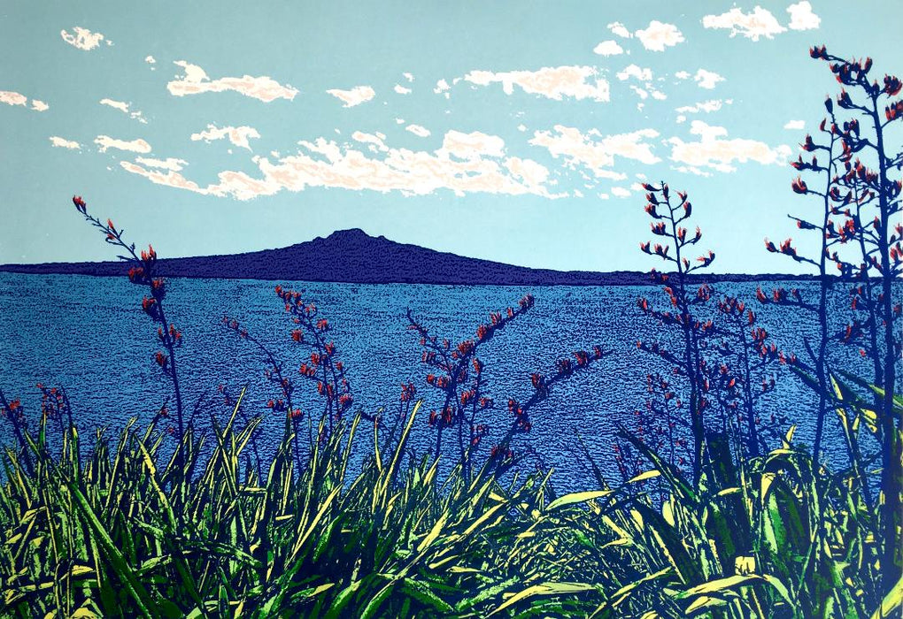 Coastal View of Rangitoto