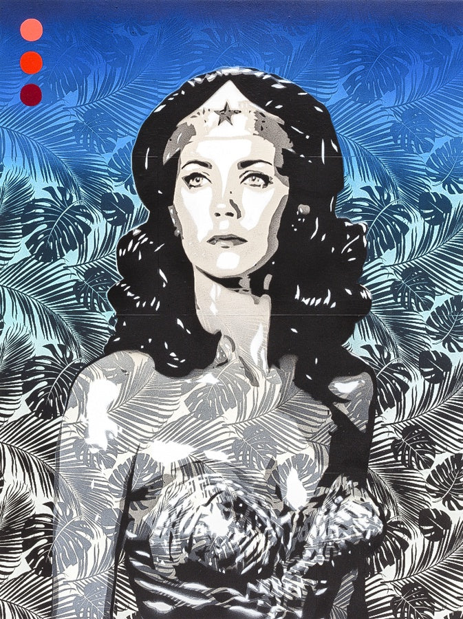 Brad Novak: Amazon 2: 11 Linda Carter as Wonder Woman (SOLD)