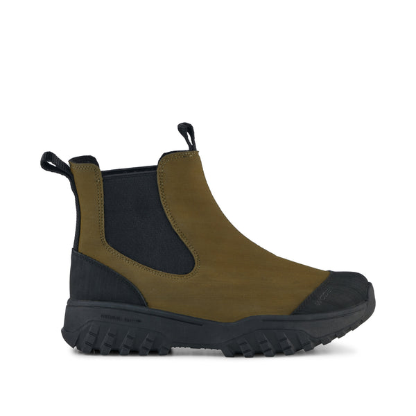 WODEN Magda Rubber Track Boot  Boots 786 Dark Olive/Black