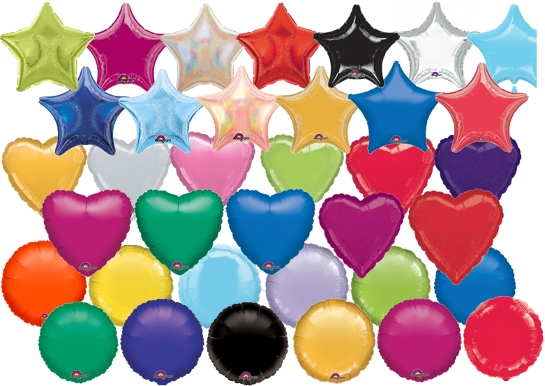 Heart and Star Foil Balloon - Shop'n Save On-Kerisdale