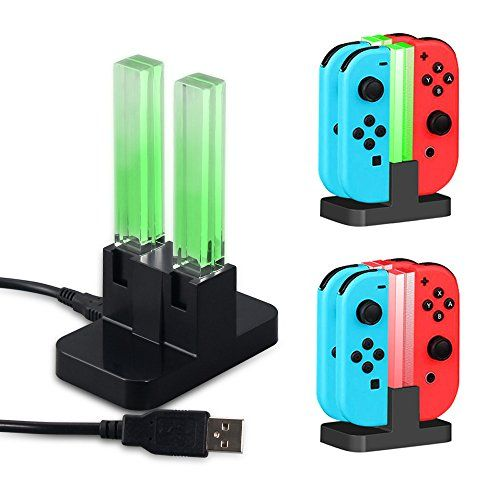Charger Dock with LED for Nintendo Switch Type-C