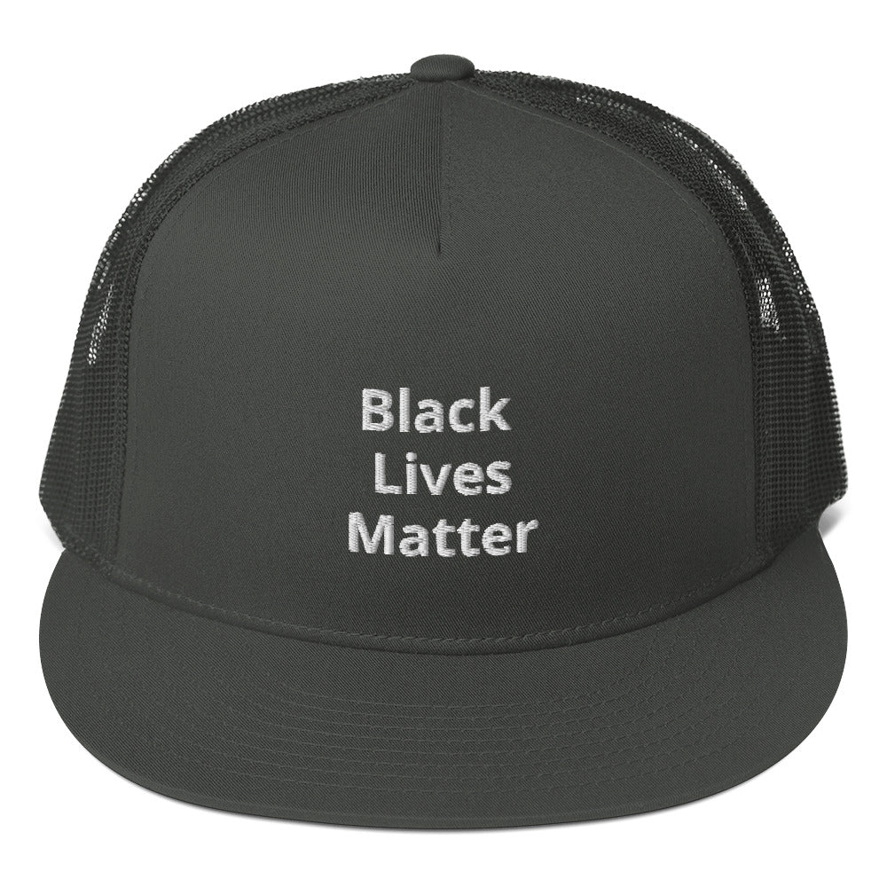 Black Lives Matter Mesh Back Snapback