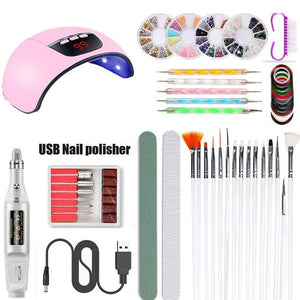 At Home  Nail Polish Starter Kit