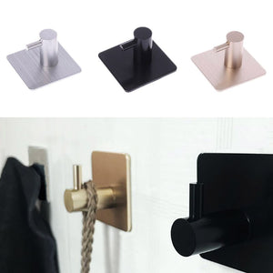Durable Aluminum Door Hook Self Adhesive