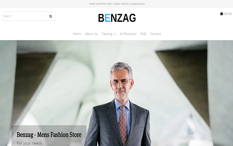 BENZAG - MEN'S FASHION STORE