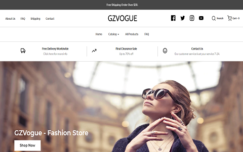 GZVOGUE - FASHION STORE