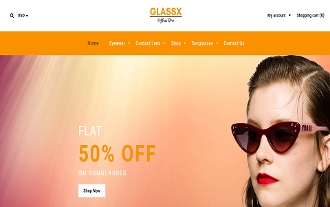 Glassx - Sunglass Shop