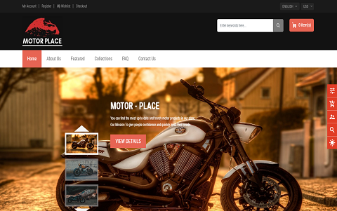 Motor Place - Motorcycle Store