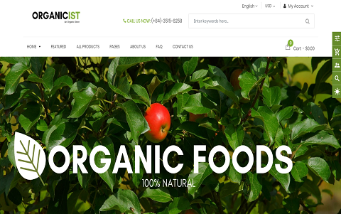 Organicist - Food & Drink Shop