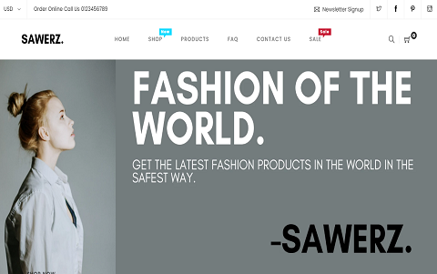 Sawerz - Fashion Store