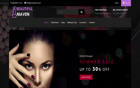 Beautiful Maven - Cosmetic Shop