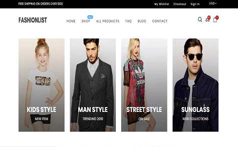 Fashion Lists - Dress, Clothing & Fashion Shop