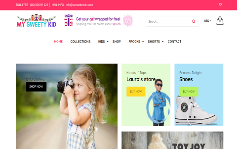 My Sweety Kid - Child Fashion Shop