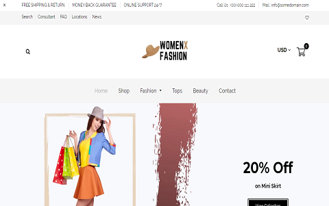 WomenX - Women Fashion & Dress Shop