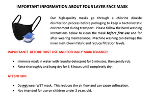 3 PACK - Child Face Masks