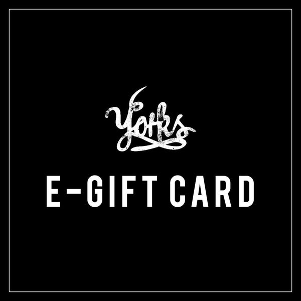 Yorks Coffee Roasters Gift Card