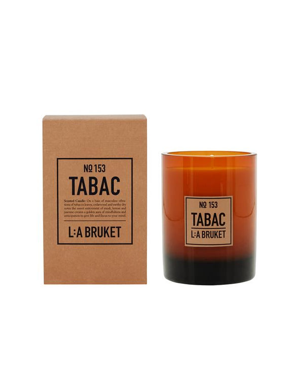 L:A BRUKET No 153 Candle Tabac / Limited Christmas Edition