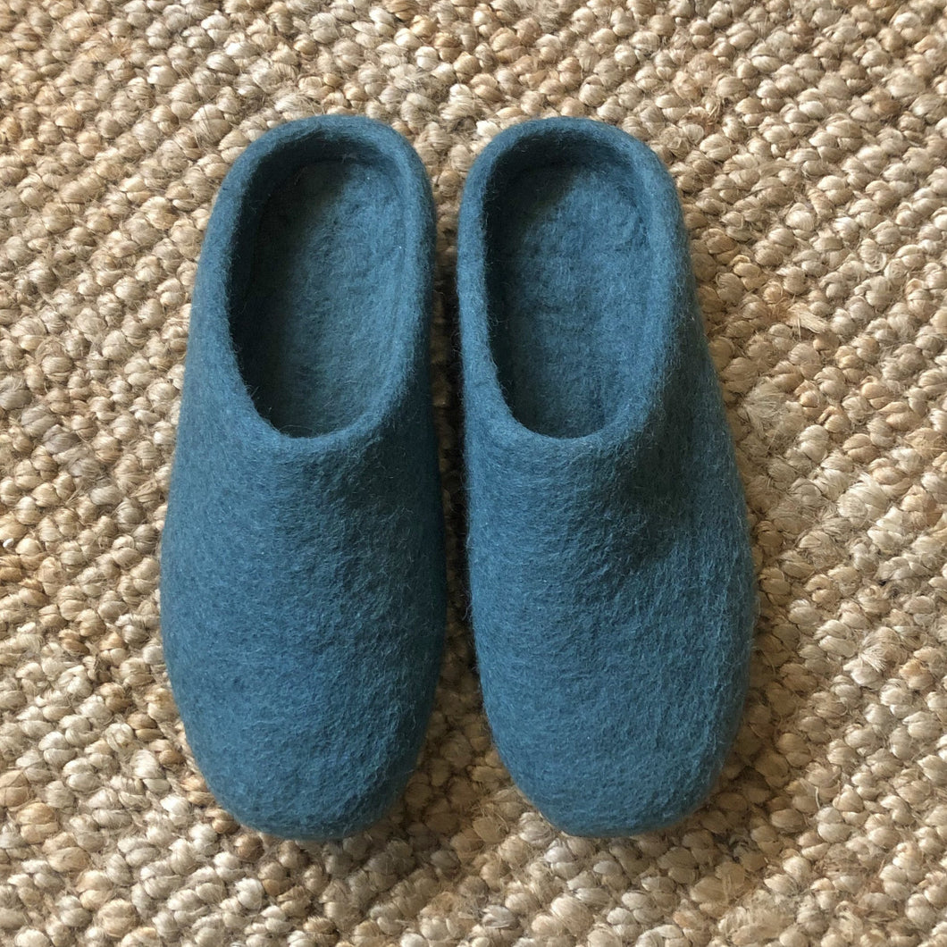 Mita Felt Slipper I Teal