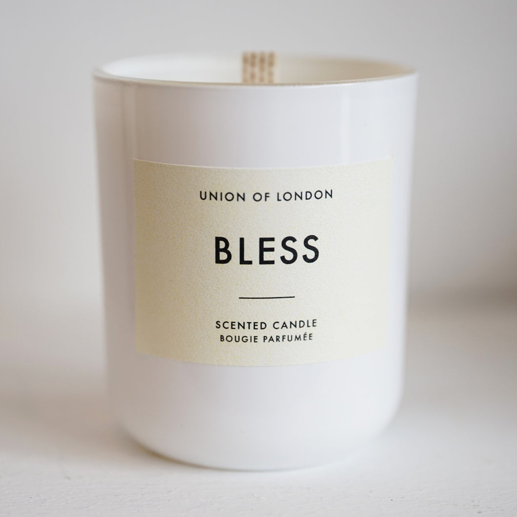 Bless Candle Medium White