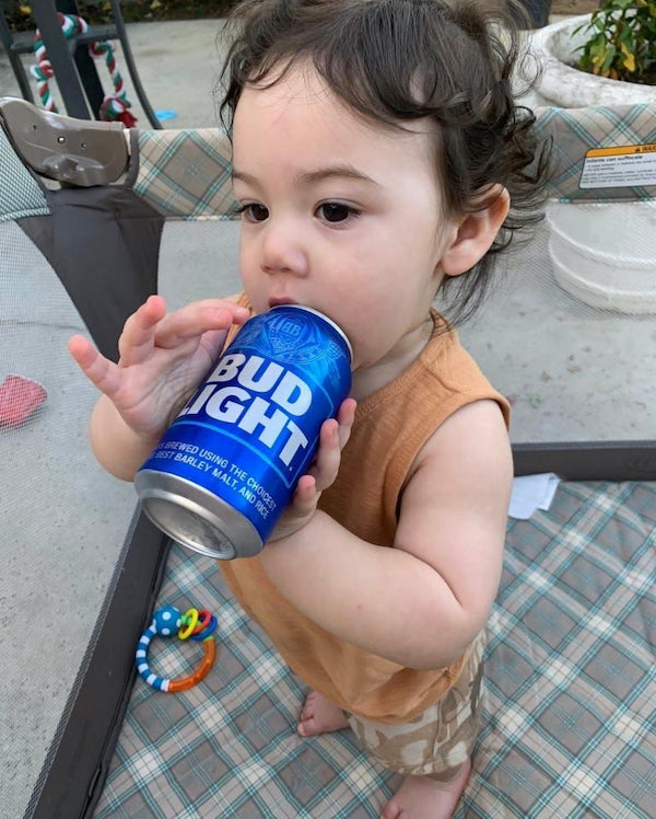 Baby Loves Beer Can