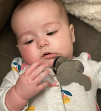 Chill Baby with Keys