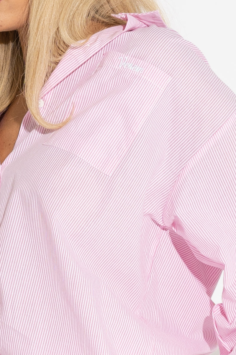 VACAY BUTTON UP