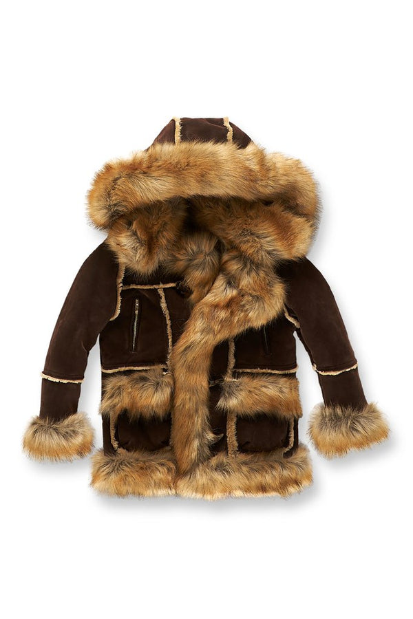 Jordan Craig Fashion Kids Shearling Brown 91393k 91393b