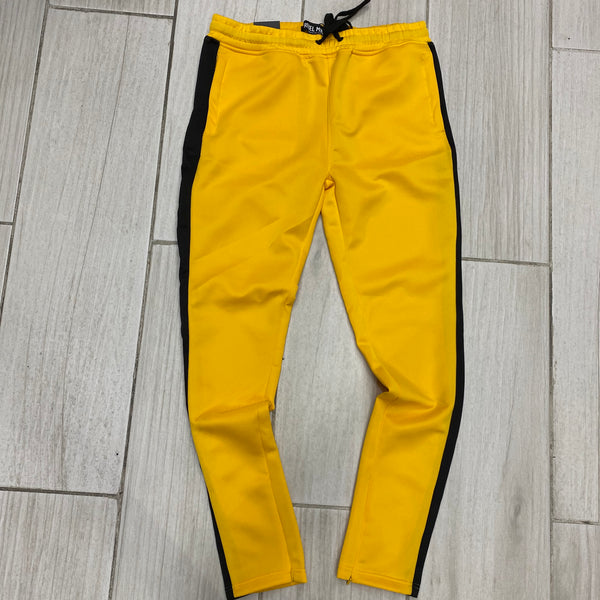 "Rebel Mind Track Pants Golden Yellow/Black   ""2020"""