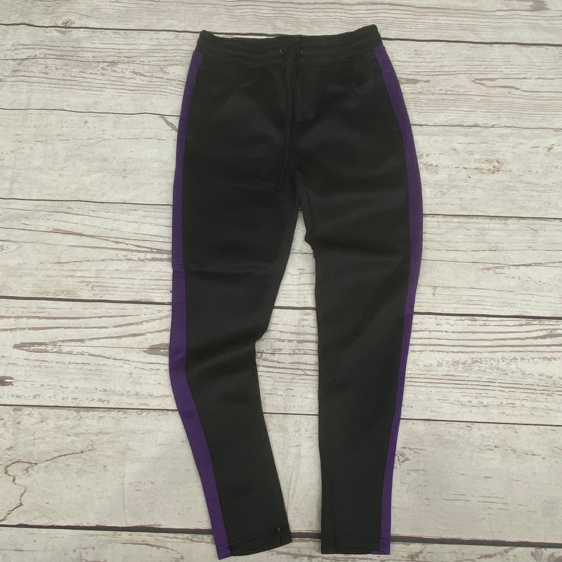 Rebel Mind Track Pants Black/Purple T