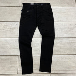 Jordan Craig plain Slim fit jeans Black Js91521