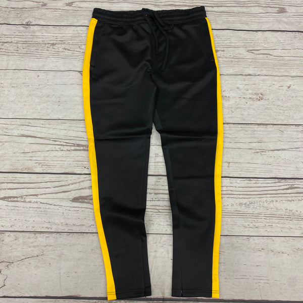 Rebel Mind Track Pants Black/Gold