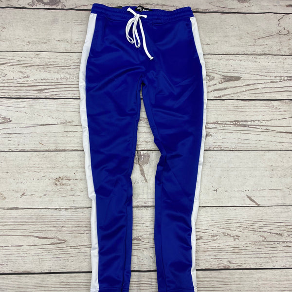 Rebel Mind Track Pants Royal White T