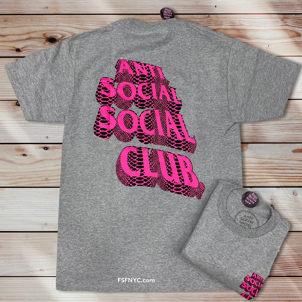 Anti Social ASSC Facade Grey Shirt