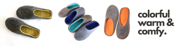 """<img src=""""https://cdn.shopify.com/s/files/1/0269/3677/0657/files/Handmade_wool_slippers_sale_July_2020_15_off__Green_slippers_5_600x600.png?v=1603454798"""" alt=""""FeltWoolSlippers.com - organic wool boots, shoes, slippers, clogs"""" />"""
