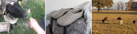 FeltWoolSlippers.com - organic wool felt shoes, felt boots, boiled wool slippers