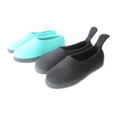 Sustainable Wool Shoes Black Mono