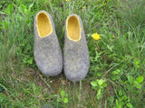 Womens Comfortable Felted Wool Slippers