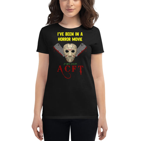 Horror Movie Women's Short Sleeve S-Shirt