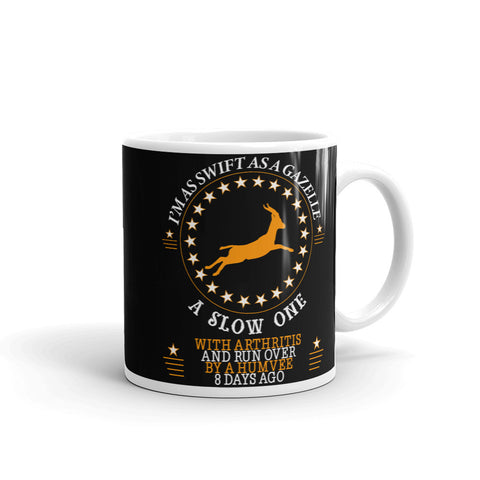 Swift as a Gazelle Ceramic Mug