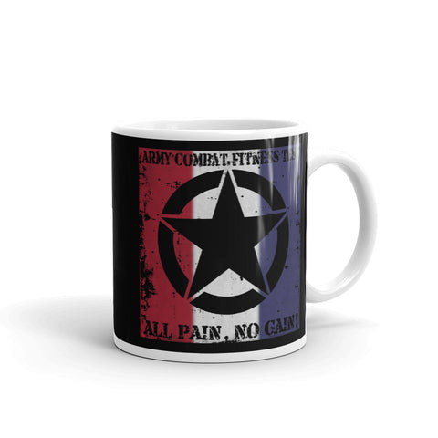 ACFT Red, White, and Blue Mug