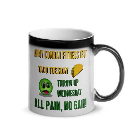 Taco Tuesday, Throw Up Wednesday Magic Mug