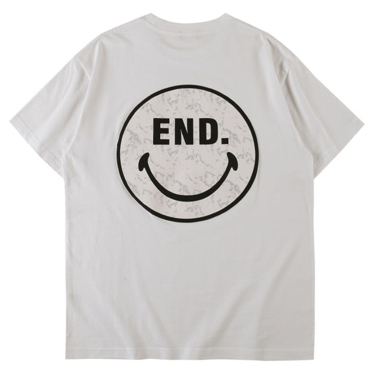 Smiling Face Printed Tee