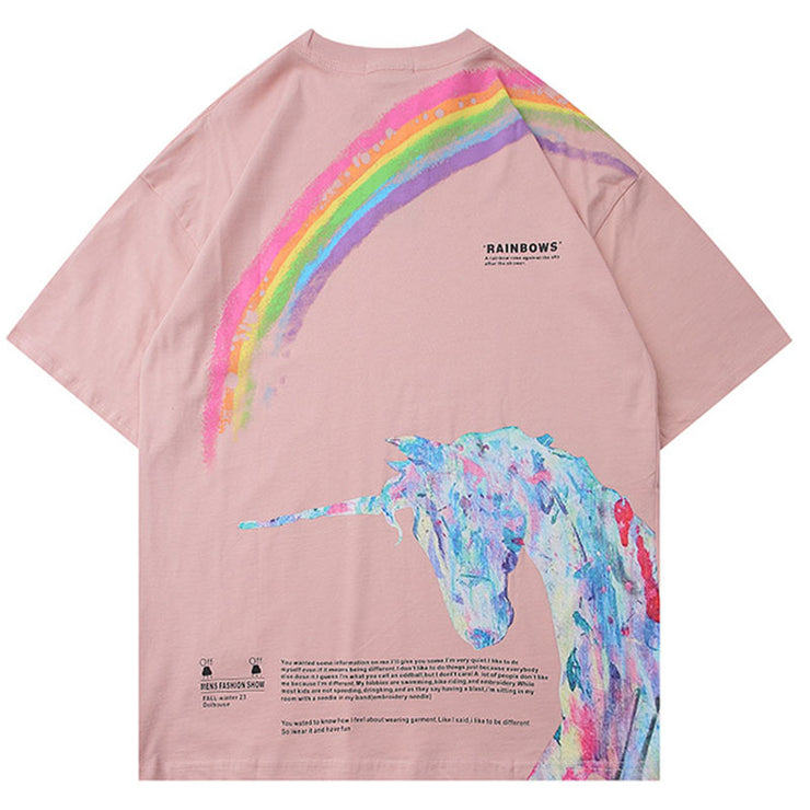 Rainbow Unicorn Tee