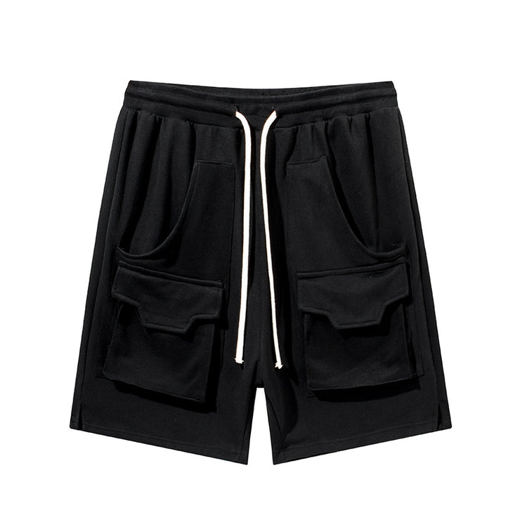 Functional Three-dimensional Pocket Shorts