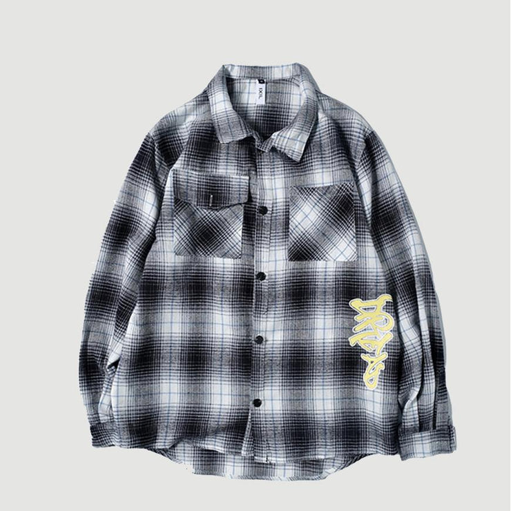 Grid Corduroy Shirt