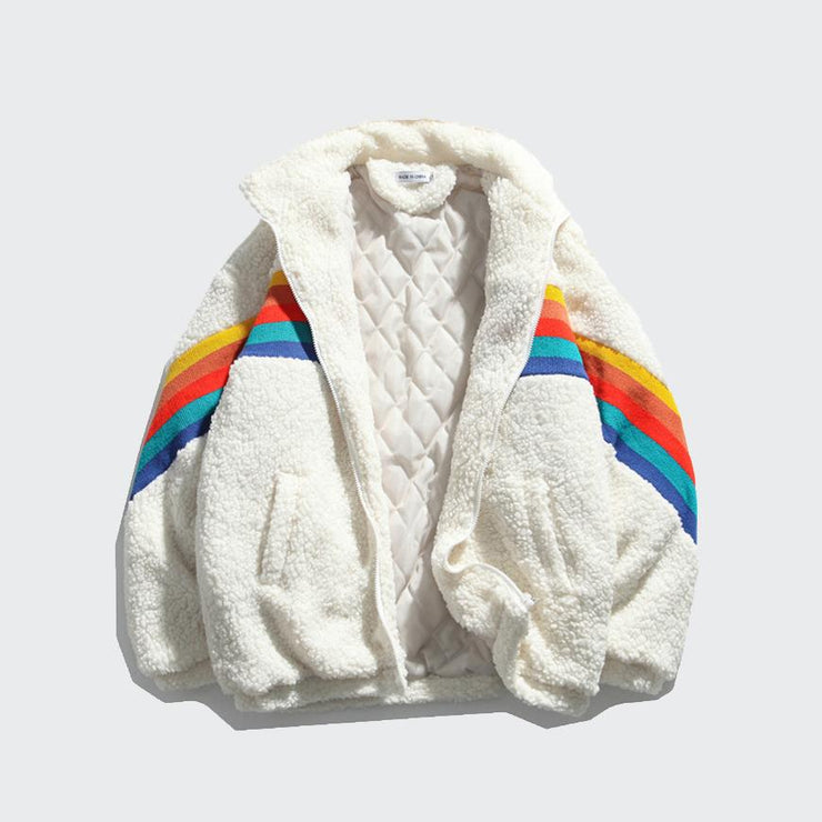 Rainbow Teddy  Coat