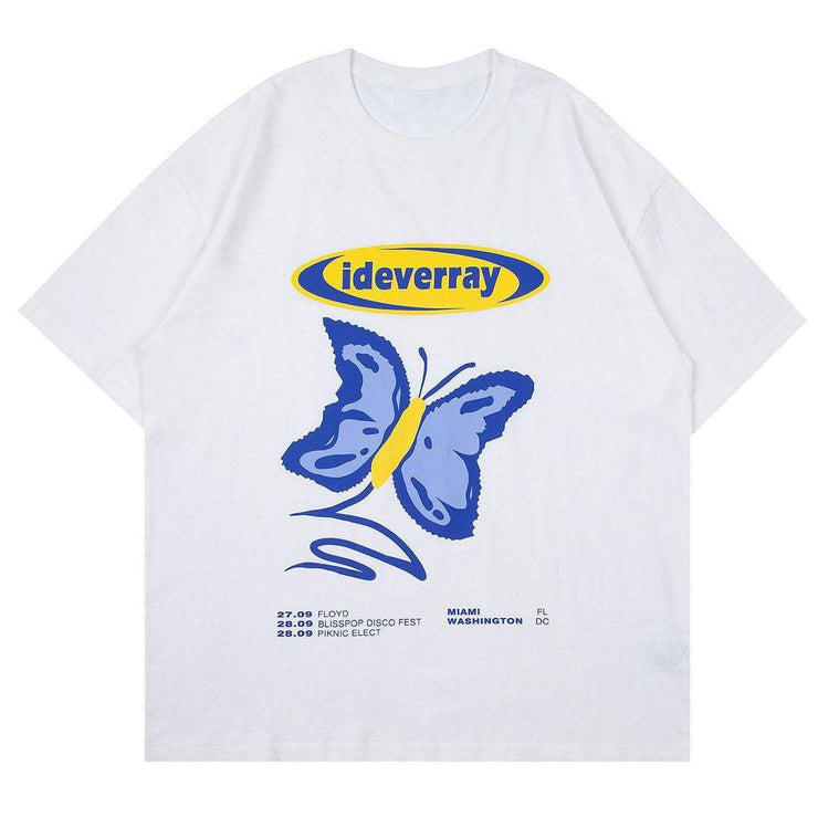 Butterfly Effect Printed Cotton Tee
